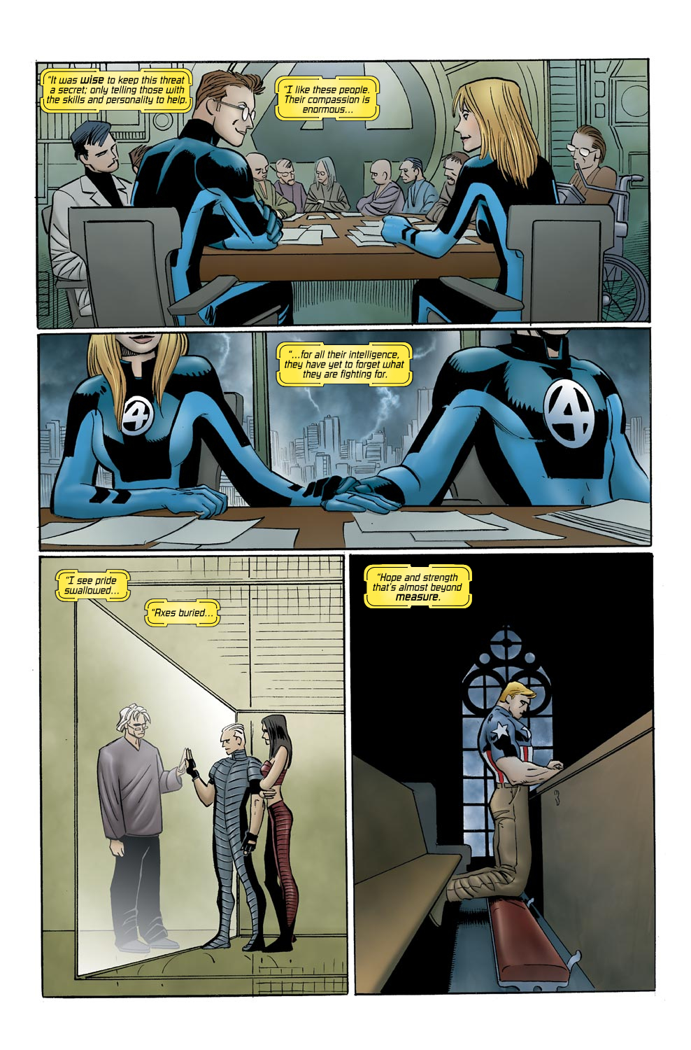 Read online Ultimate Vision comic -  Issue #0 - 20