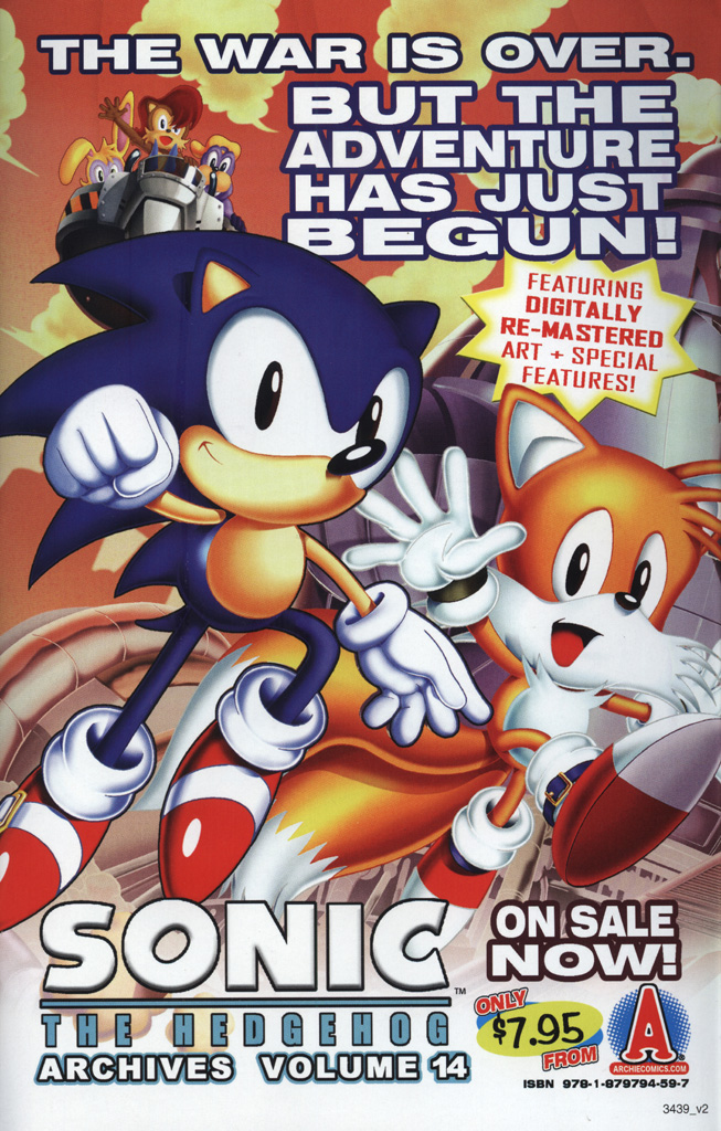 Read online Sonic Universe comic -  Issue #25 - 35