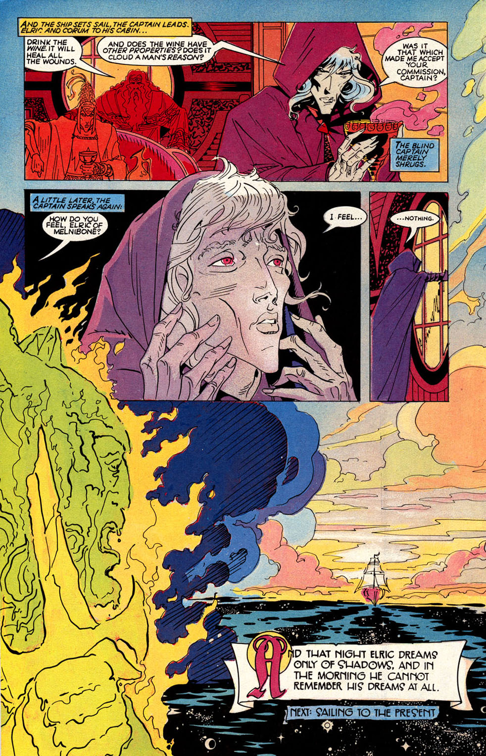 Read online Elric: Sailor on the Seas of Fate comic -  Issue #3 - 32