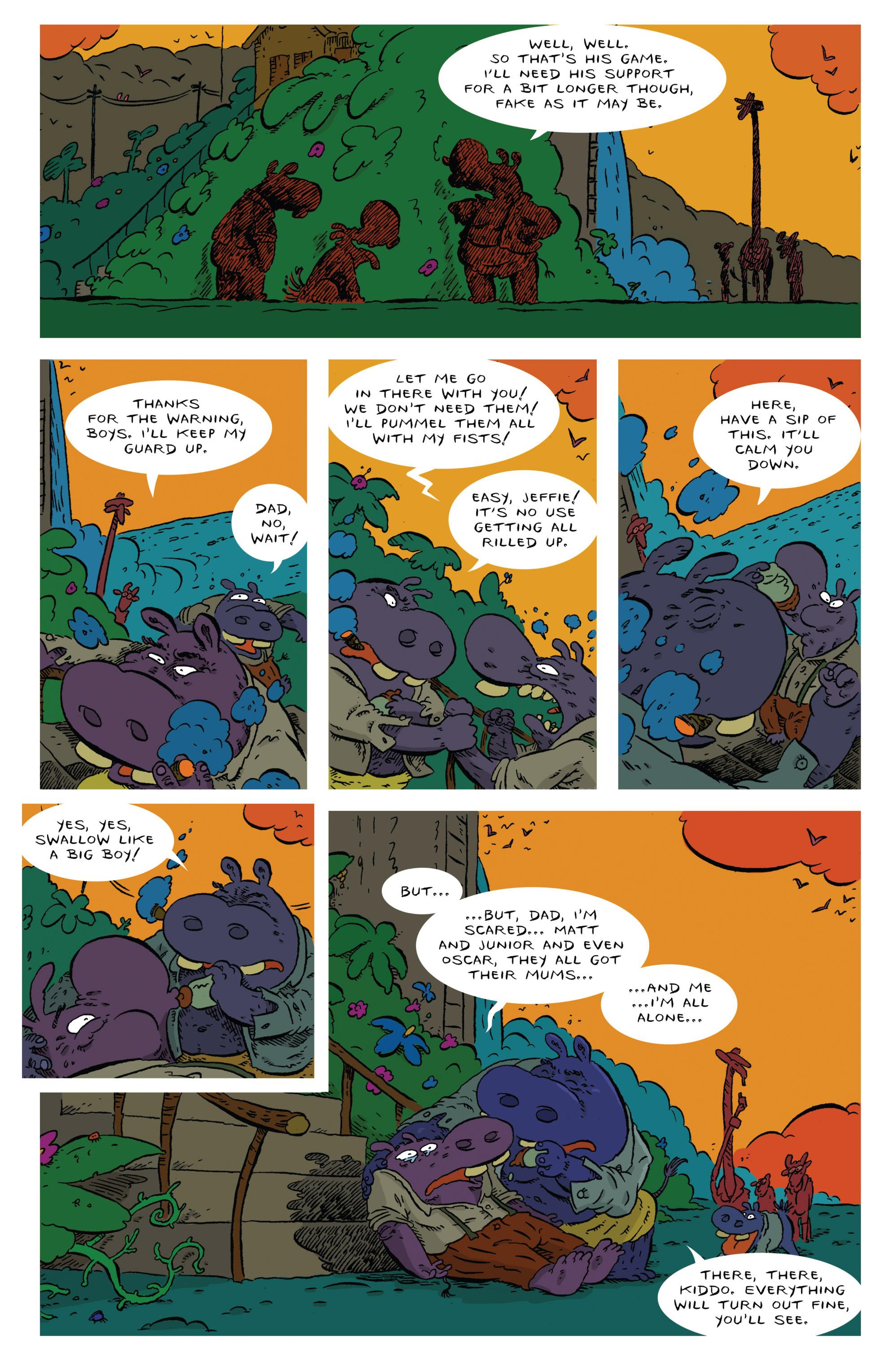 Read online Animal Noir comic -  Issue #4 - 18