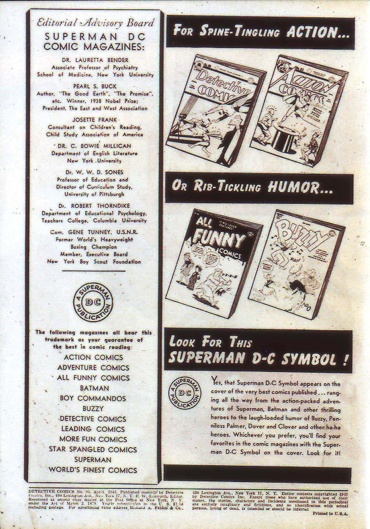 Read online Detective Comics (1937) comic -  Issue #98 - 2