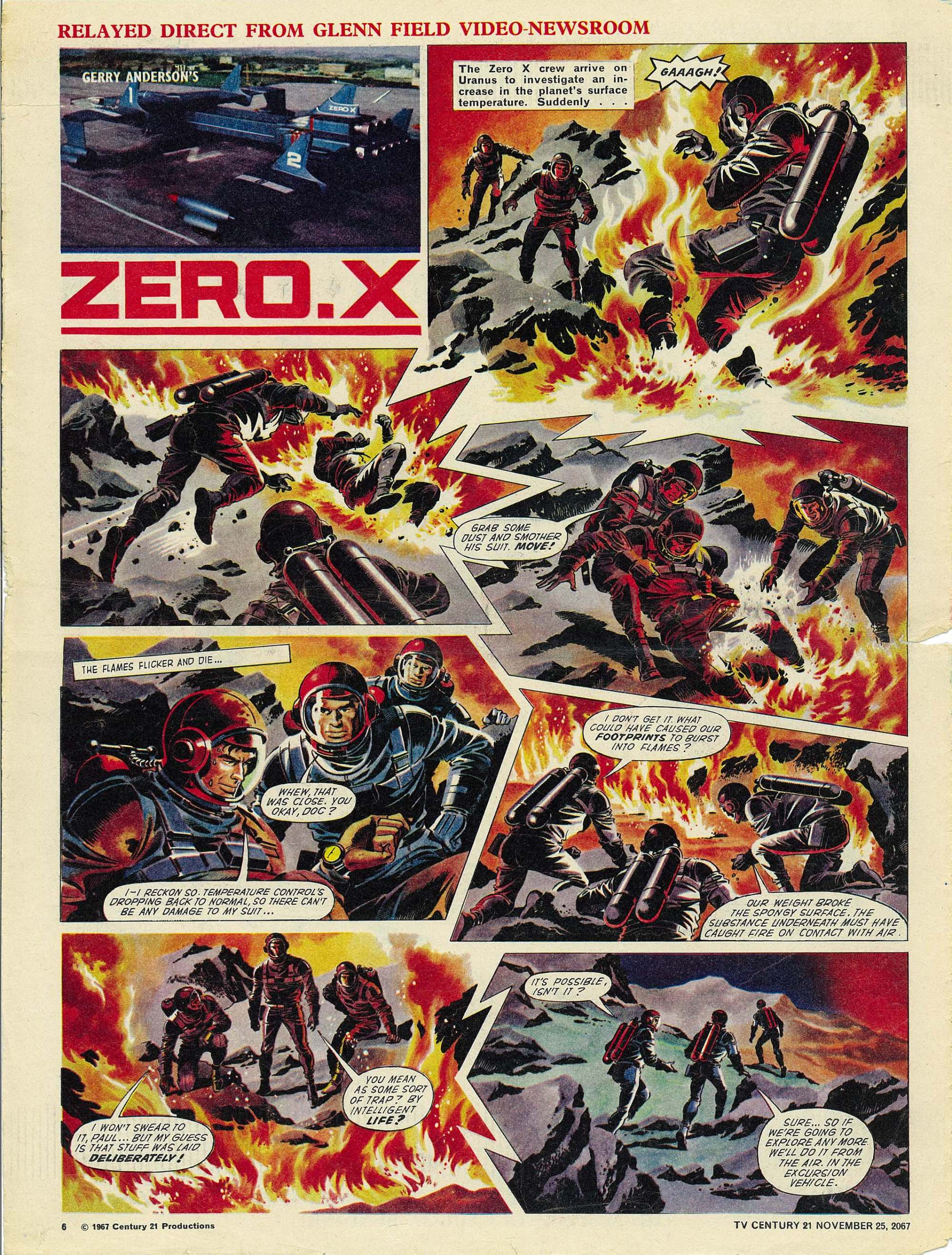 Read online TV Century 21 (TV 21) comic -  Issue #149 - 6