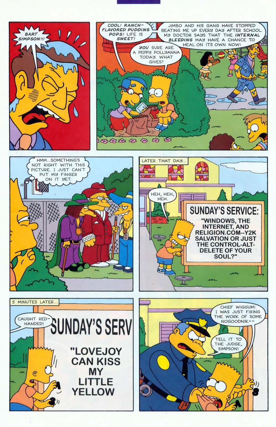 Read online Simpsons Comics comic -  Issue #46 - 13