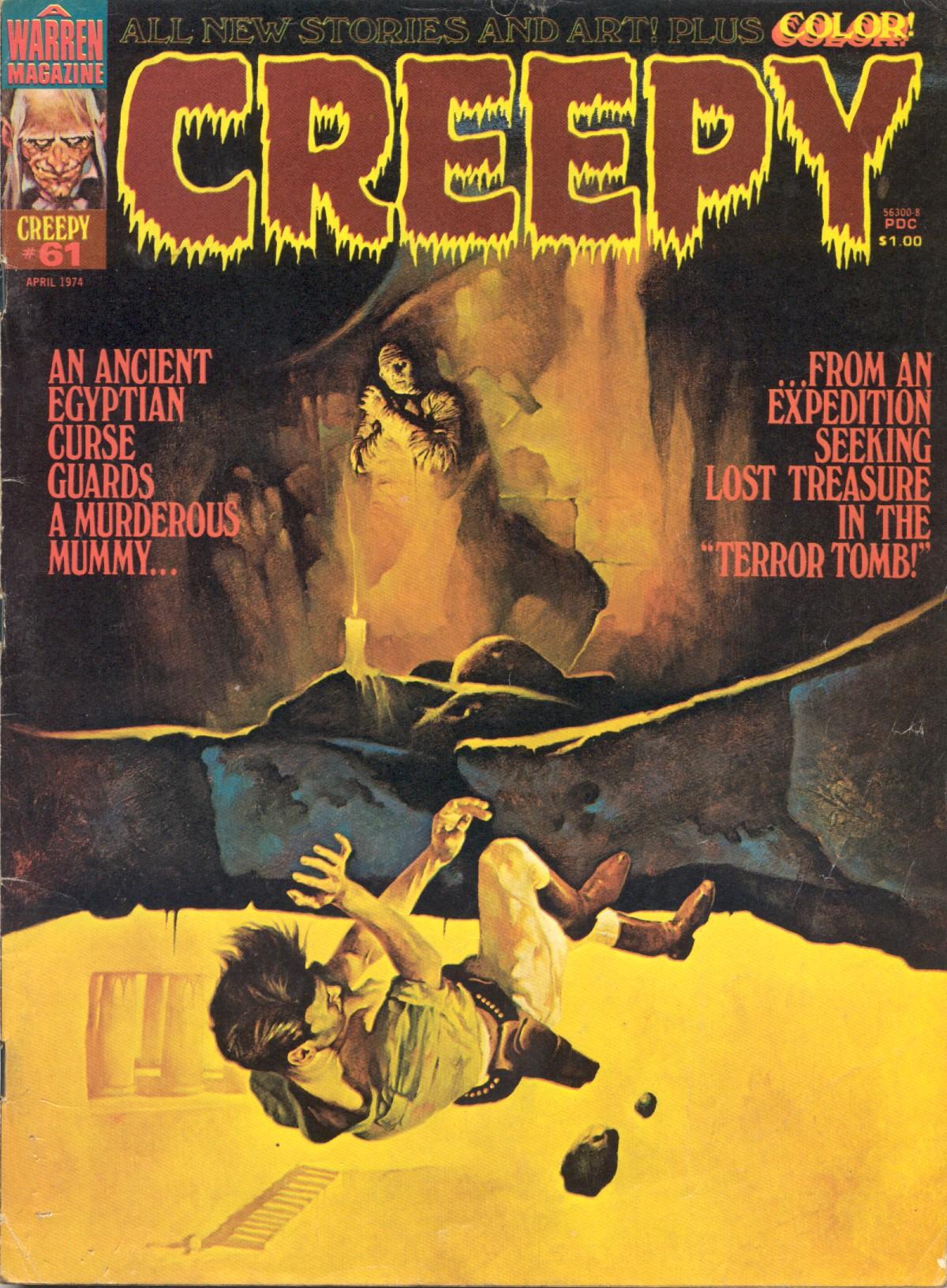 Creepy (1964) 61 Page 1