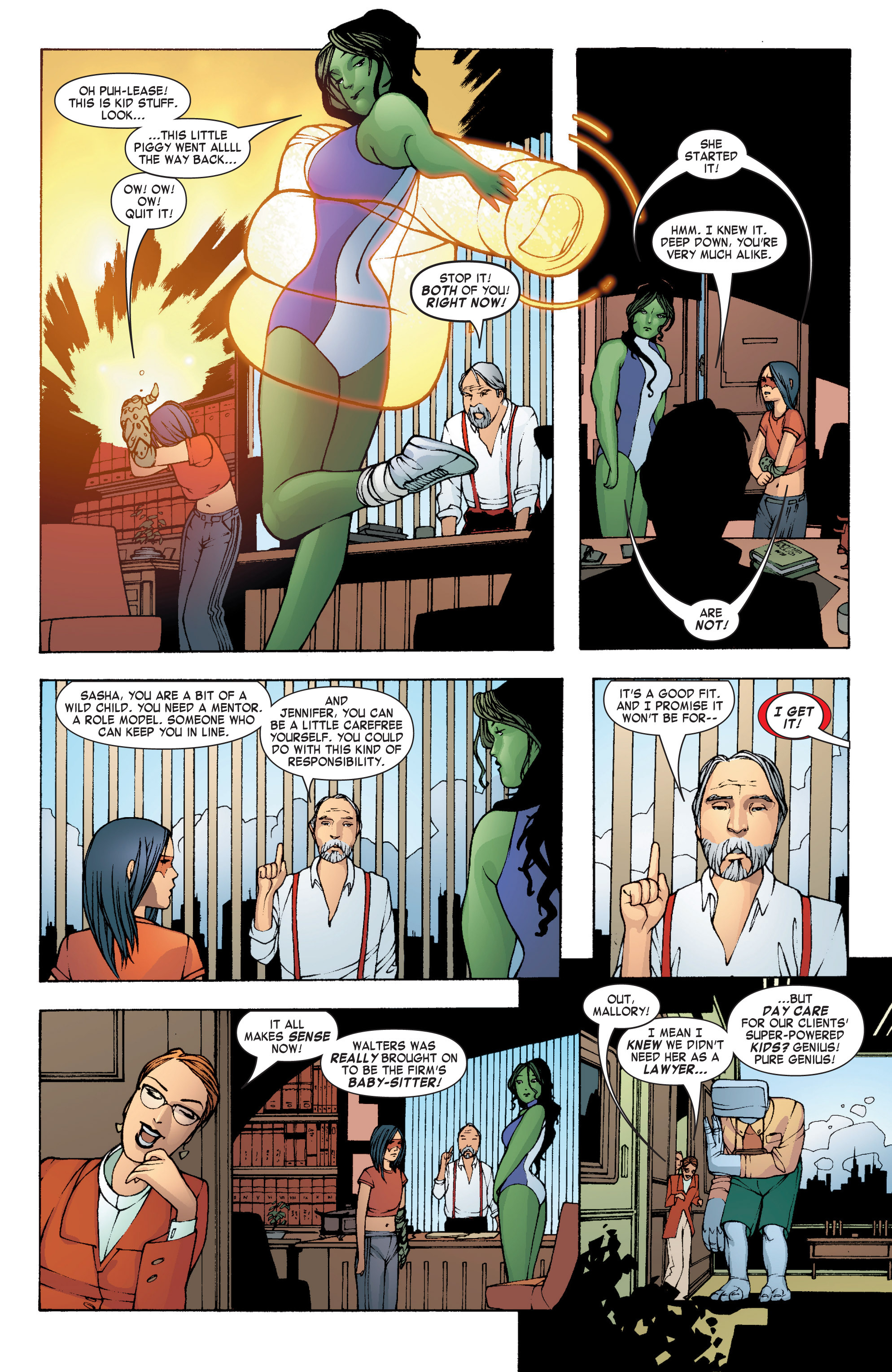 Read online She-Hulk (2004) comic -  Issue #7 - 6
