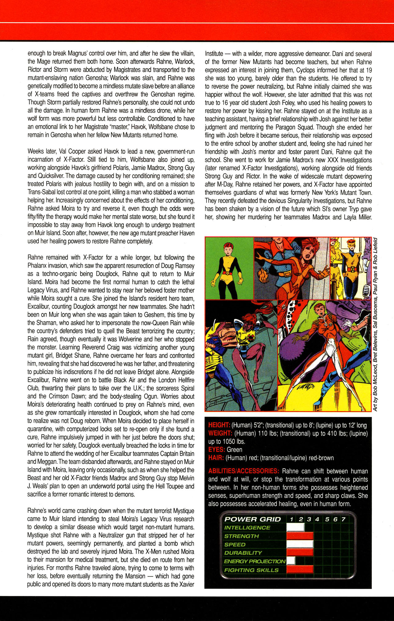Read online All-New Official Handbook of the Marvel Universe A to Z comic -  Issue #12 - 48