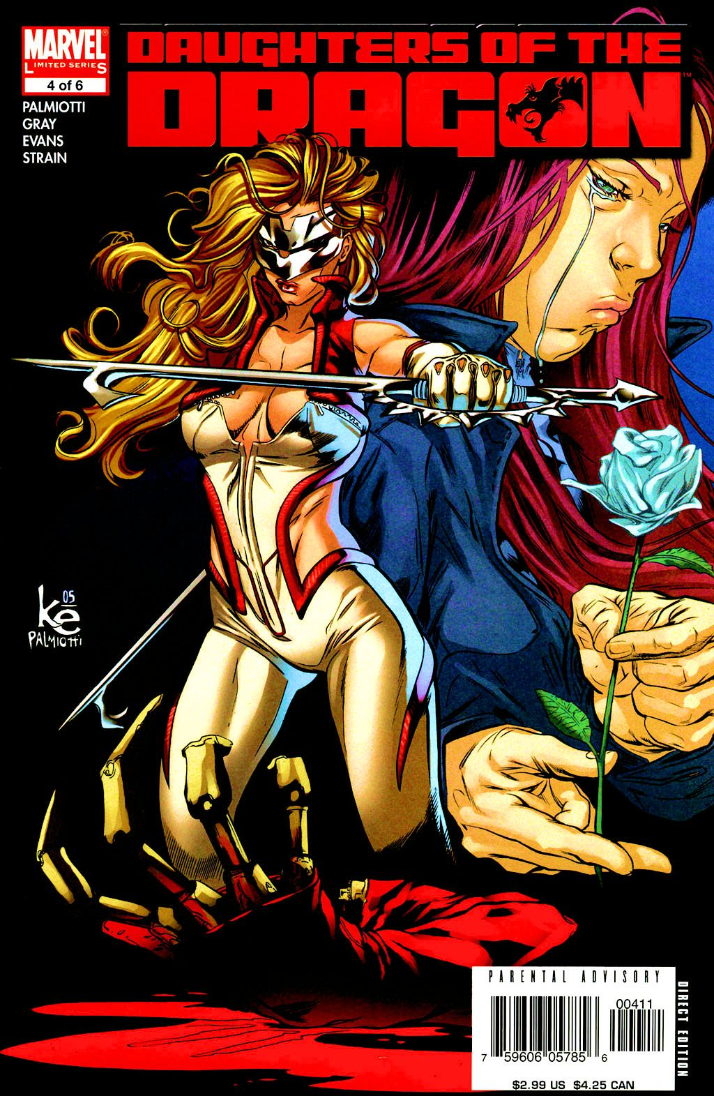 Read online Daughters of the Dragon comic -  Issue #4 - 1