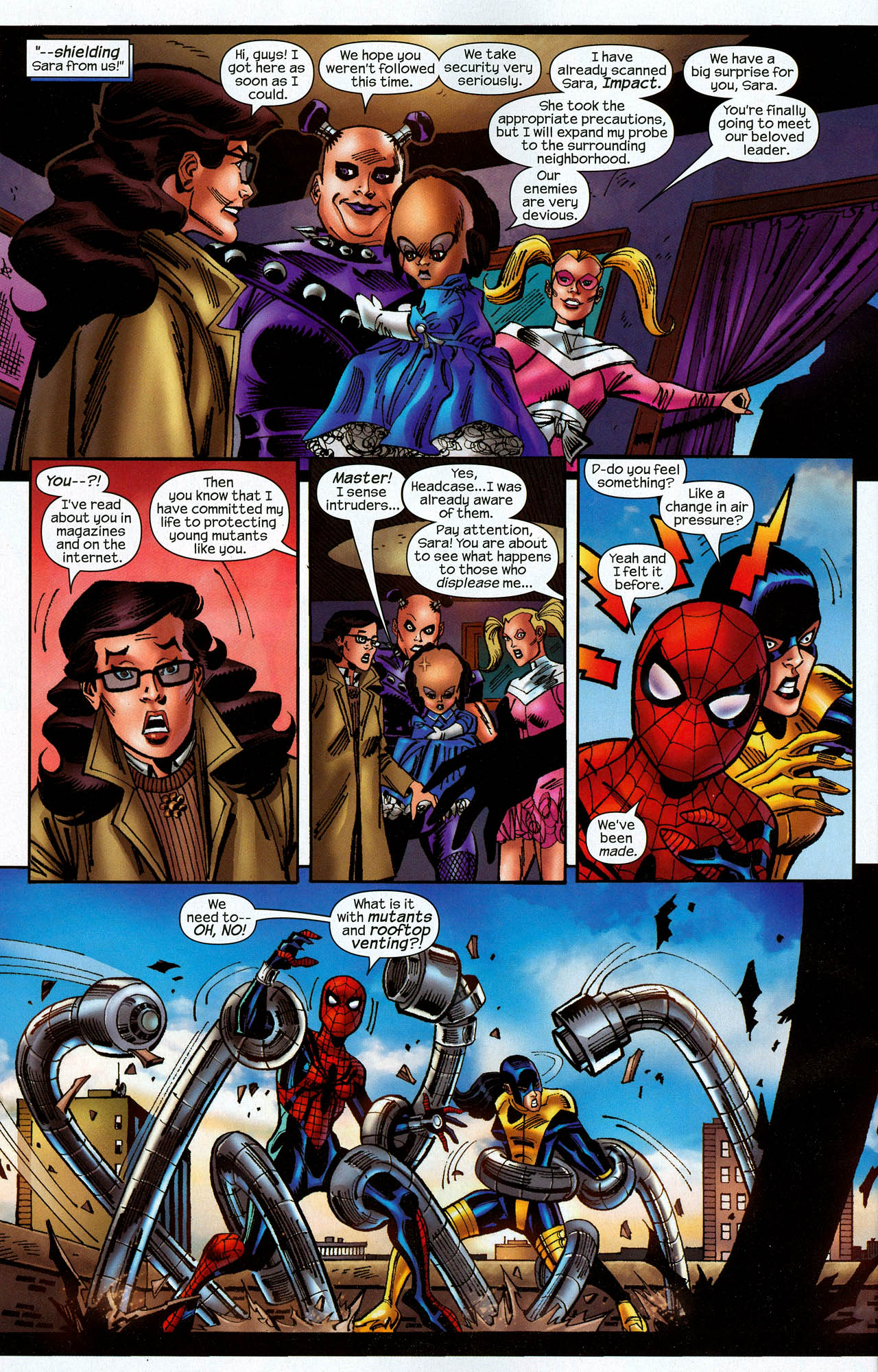 Read online Amazing Spider-Girl comic -  Issue #22 - 24