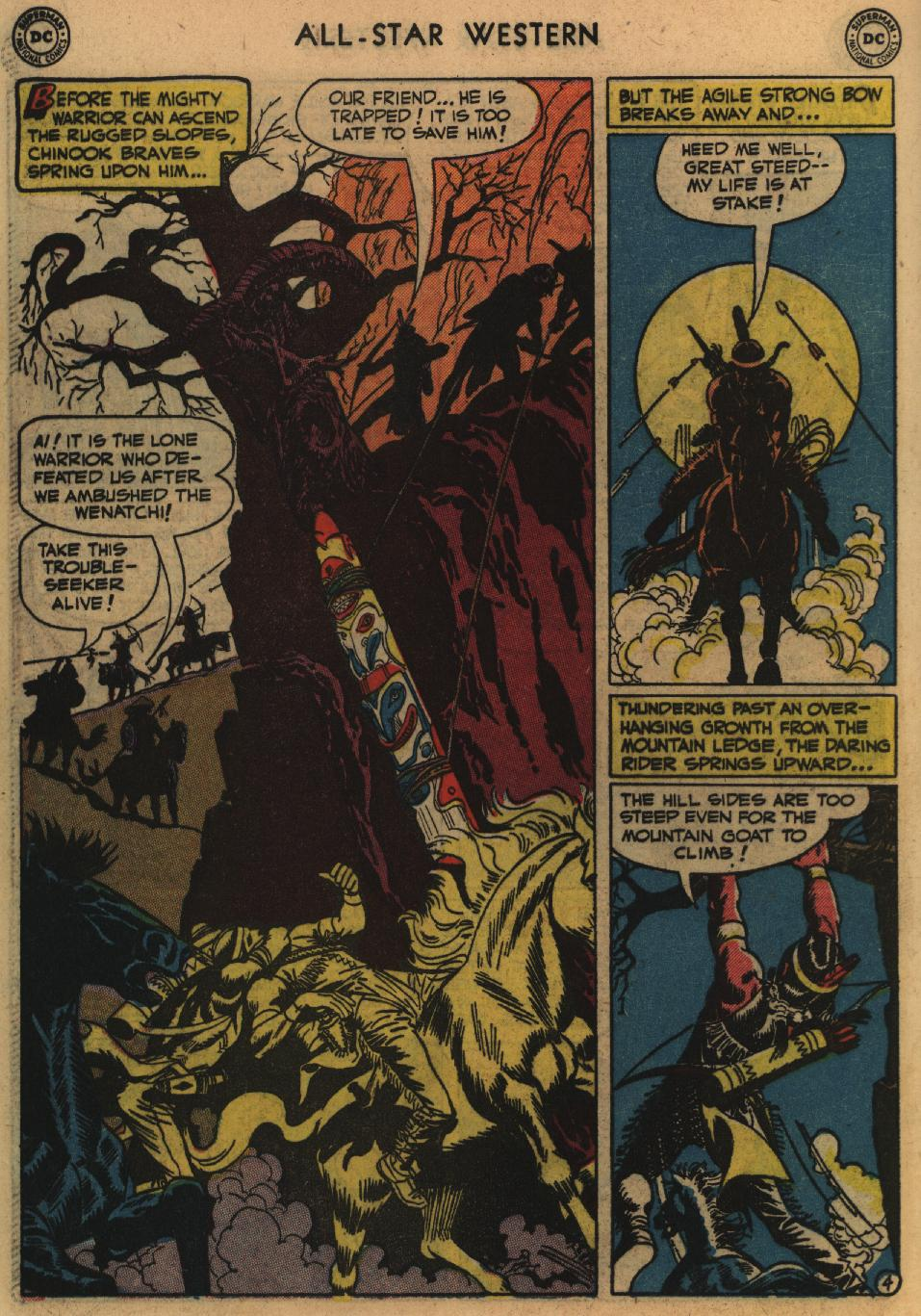 Read online All-Star Western (1951) comic -  Issue #60 - 42