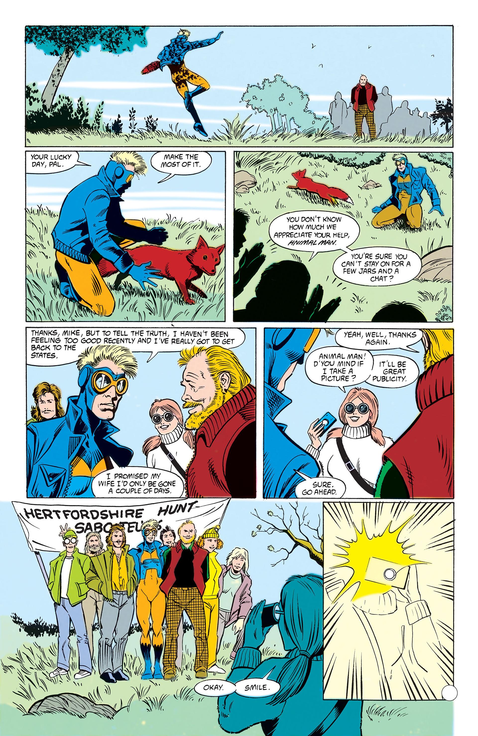 Read online Animal Man (1988) comic -  Issue #10 - 27