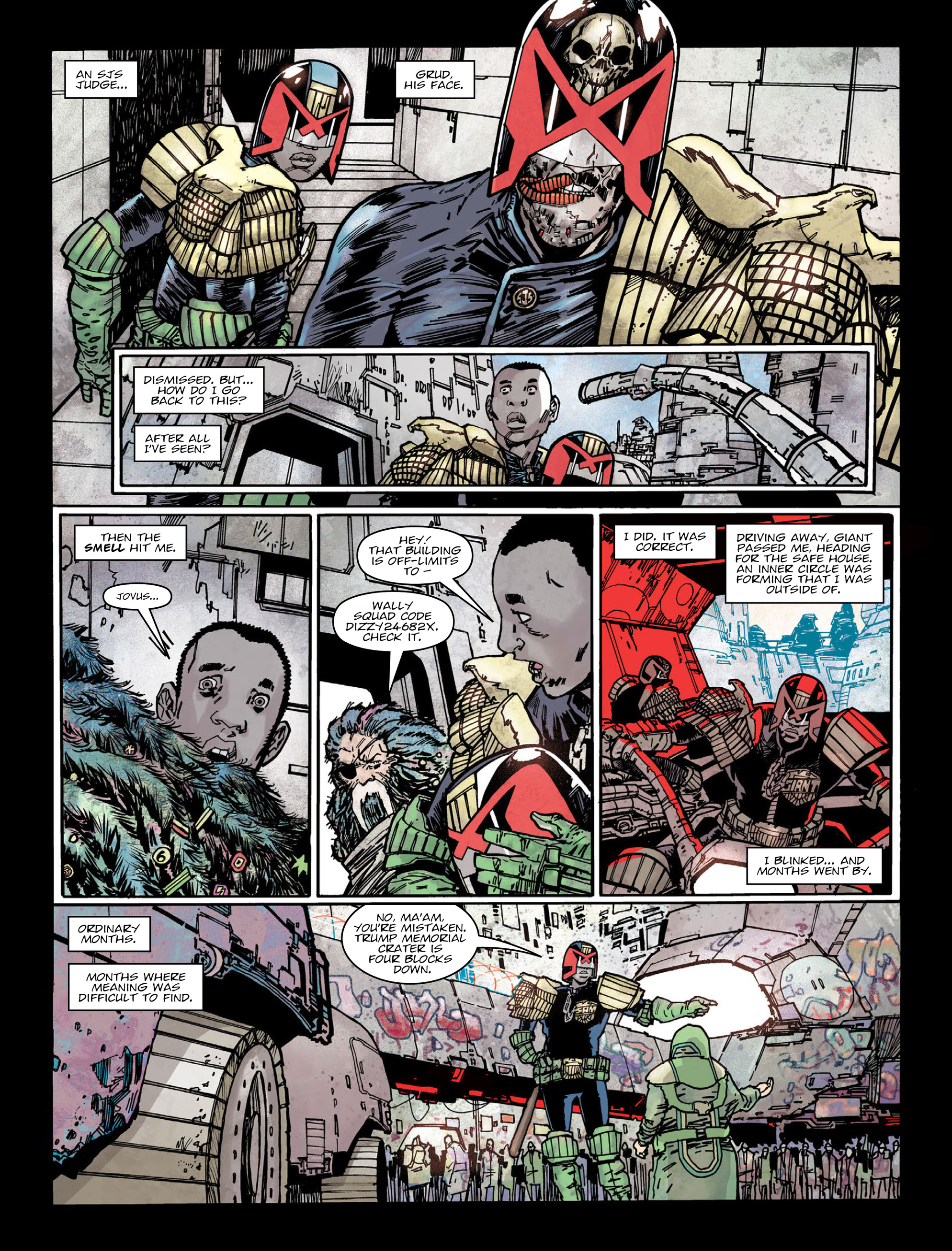 Read online 2000 AD comic -  Issue #2005 - 5