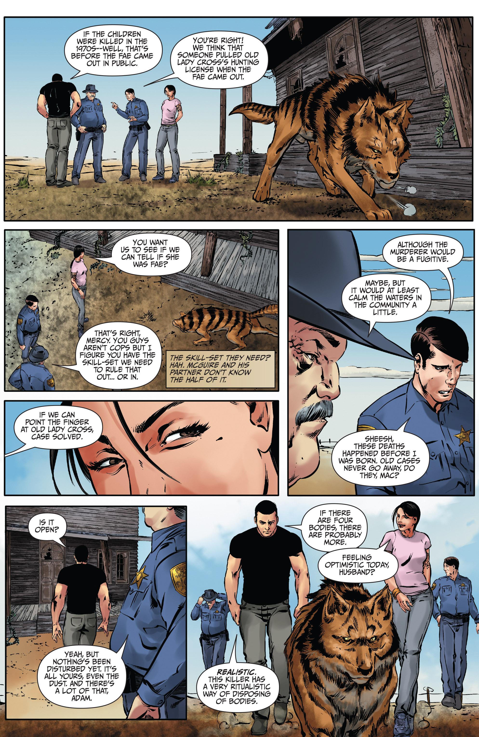Read online Mercy Thompson comic -  Issue #2 - 20