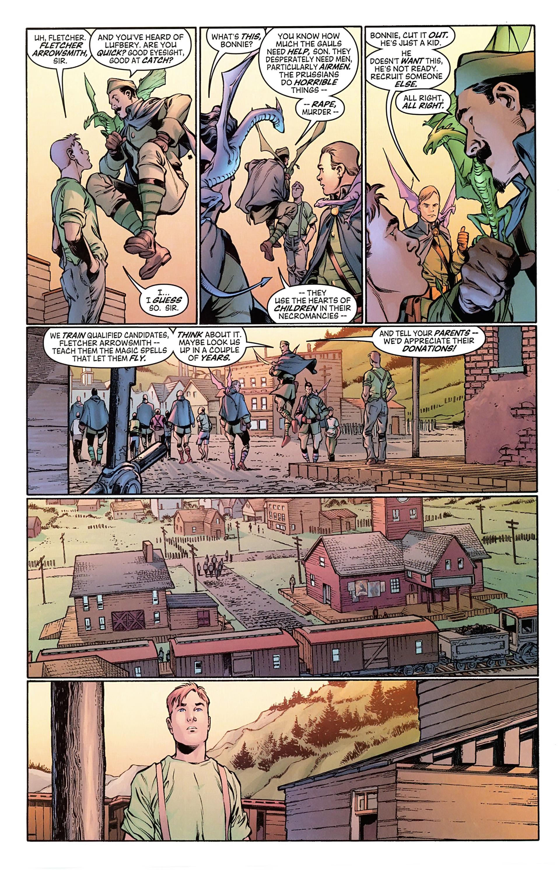 Read online Arrowsmith comic -  Issue #1 - 11