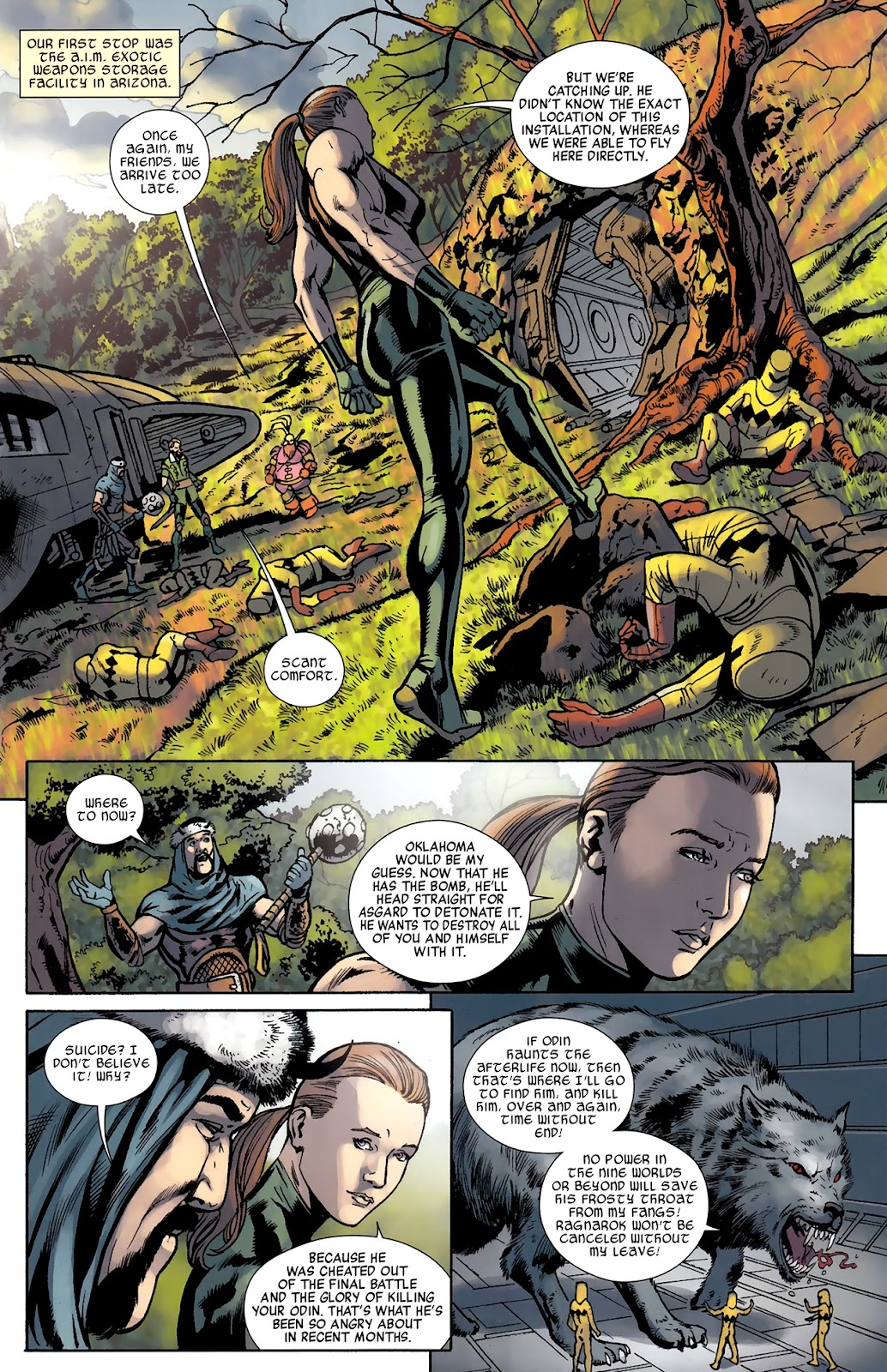 Warriors Three Issue #3 #3 - English 16