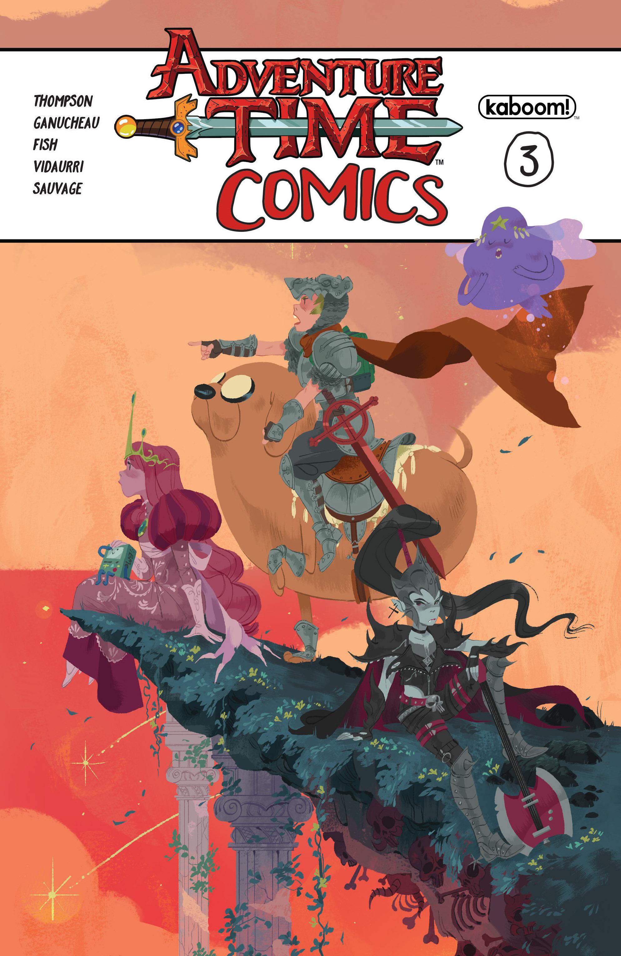 Read online Adventure Time Comics comic -  Issue #3 - 1