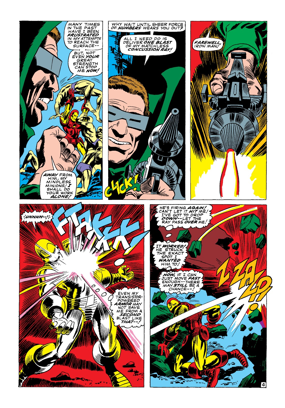 Read online Marvel Masterworks: The Invincible Iron Man comic -  Issue # TPB 4 (Part 1) - 62