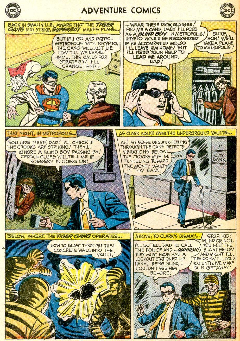 Read online Adventure Comics (1938) comic -  Issue #259 - 12