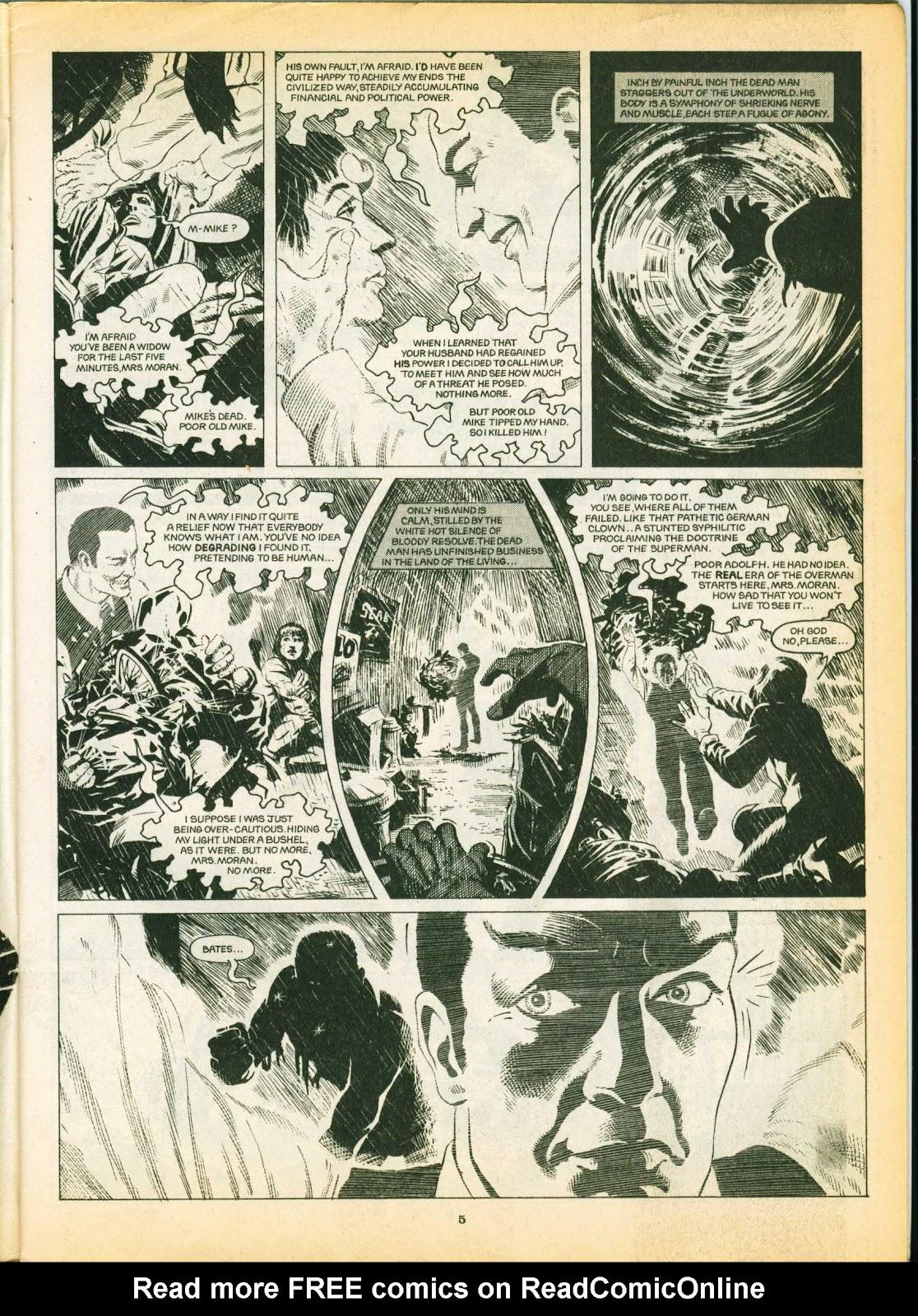 Warrior Issue #6 #7 - English 5