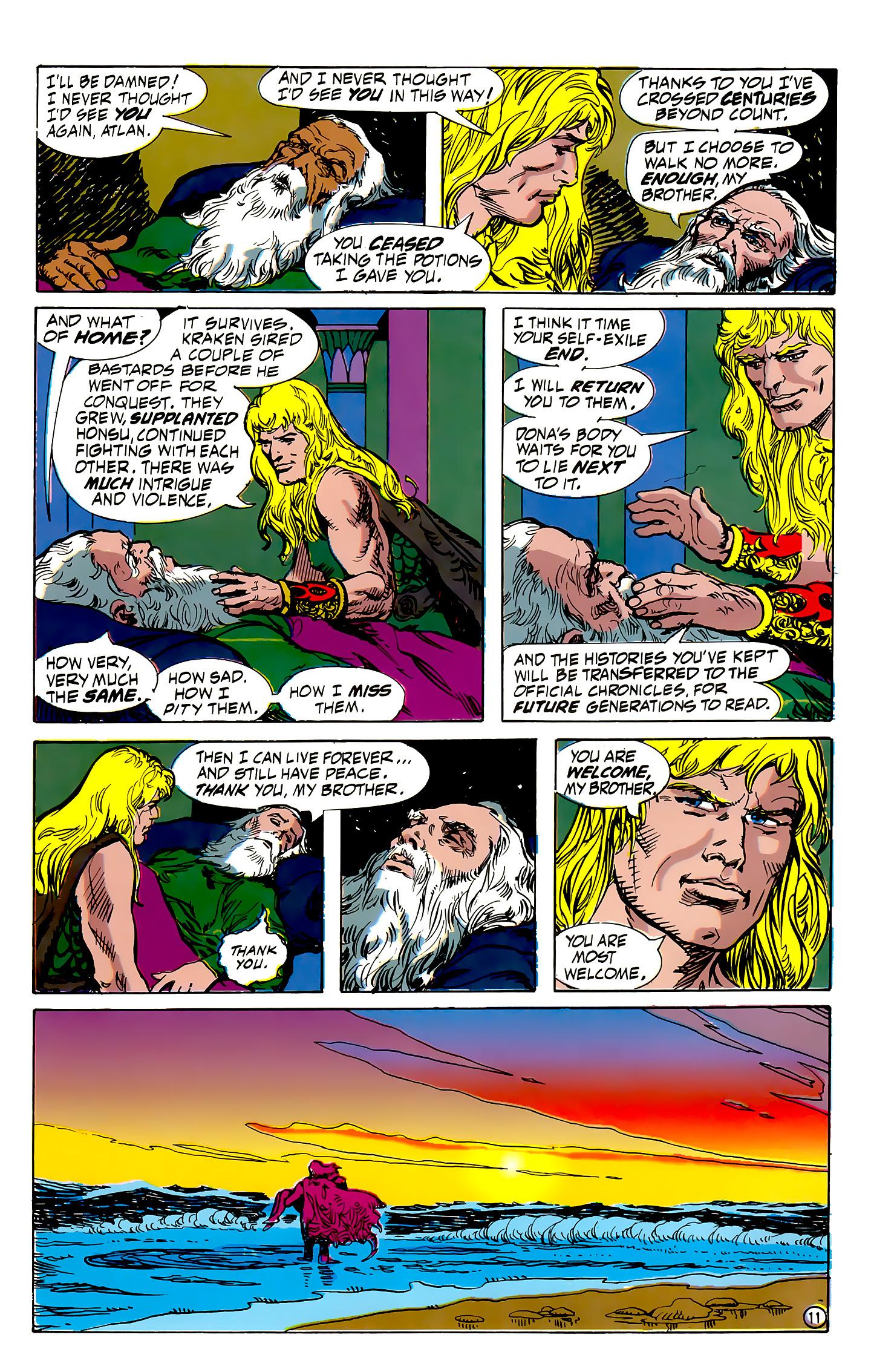 Read online Atlantis Chronicles comic -  Issue #7 - 12