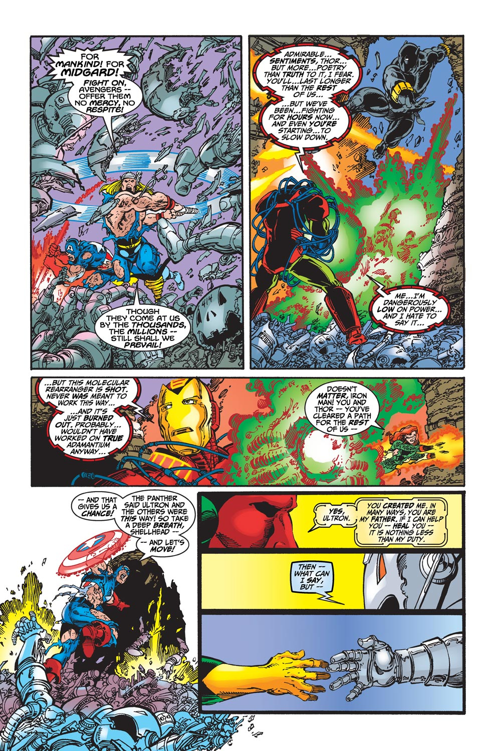Read online Avengers (1998) comic -  Issue #22 - 11