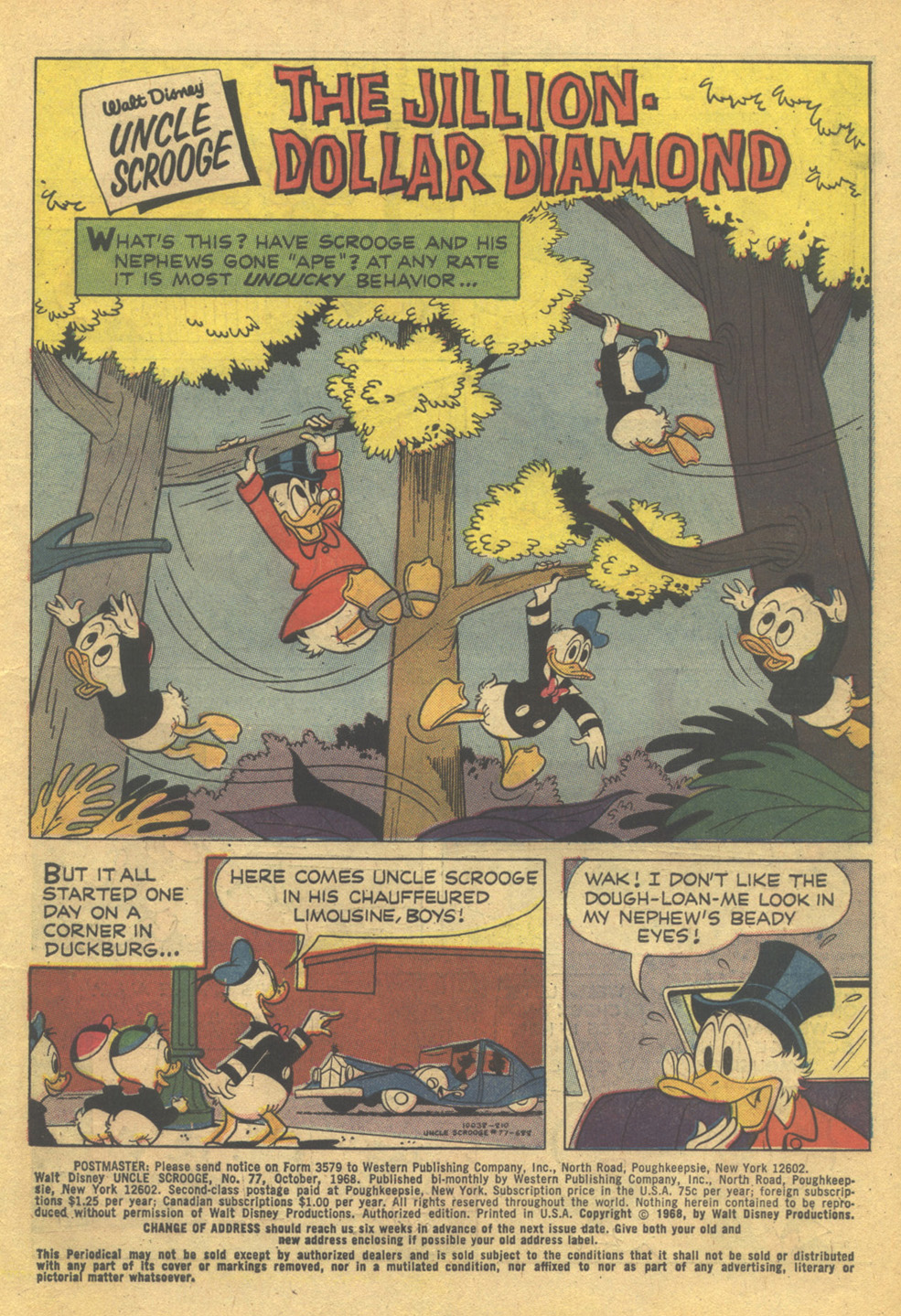 Read online Uncle Scrooge (1953) comic -  Issue #77 - 2