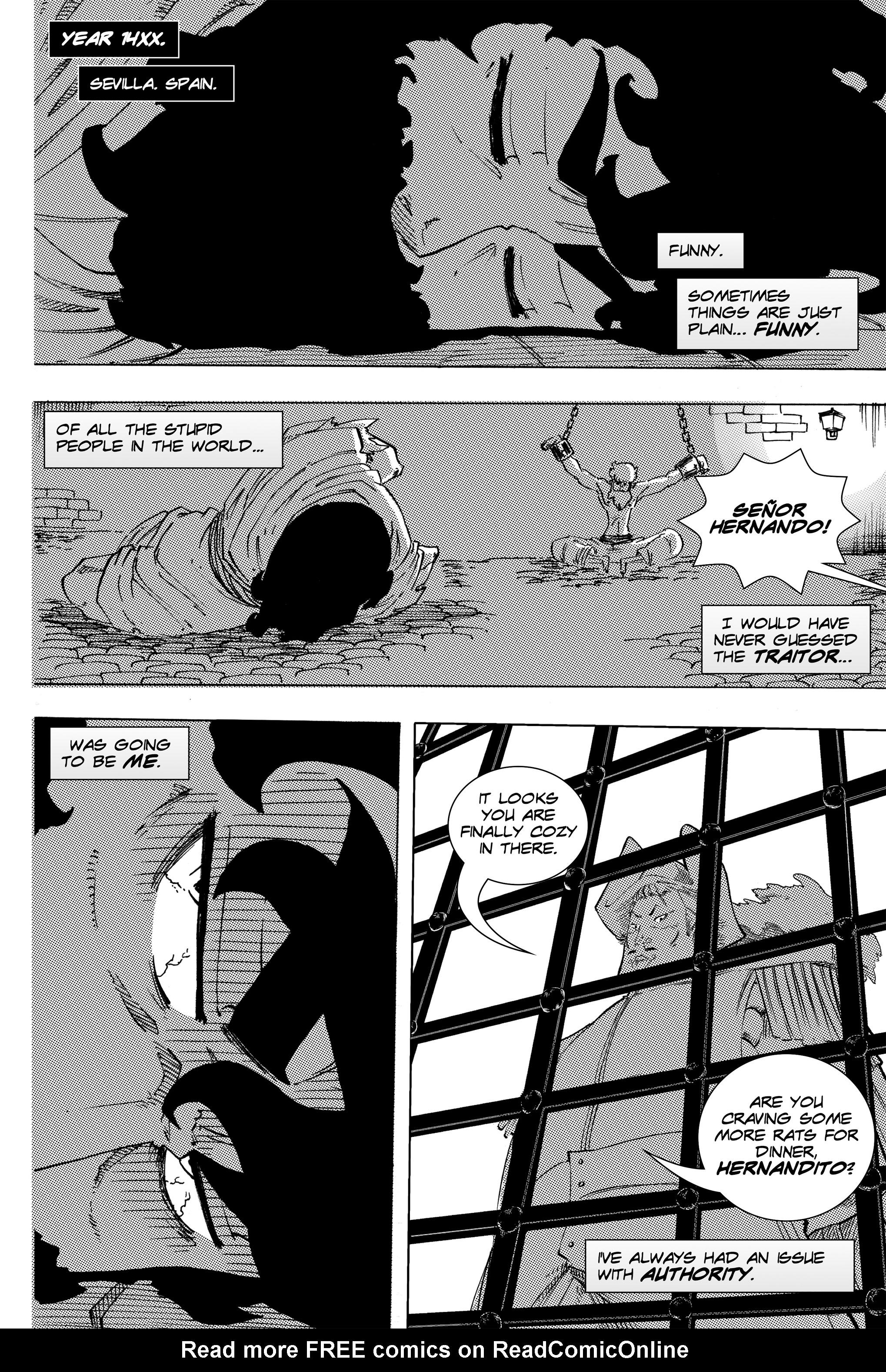 Read online Silvertongue 30xx Vol. 3 comic -  Issue # Full - 2