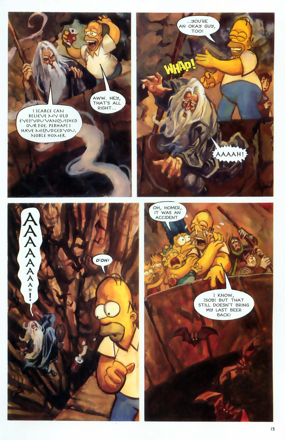 Read online Treehouse of Horror comic -  Issue #9 - 15