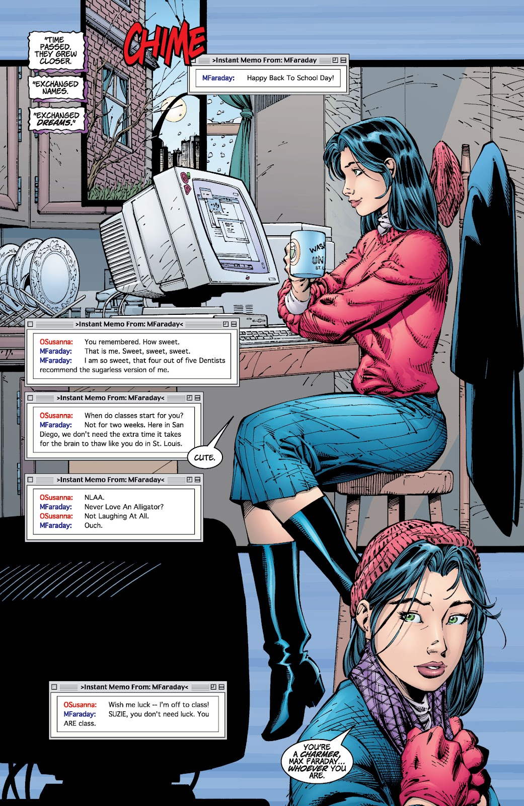 Read online Divine Right comic -  Issue # _TPB The Adventures of Max Faraday (Part 2) - 75