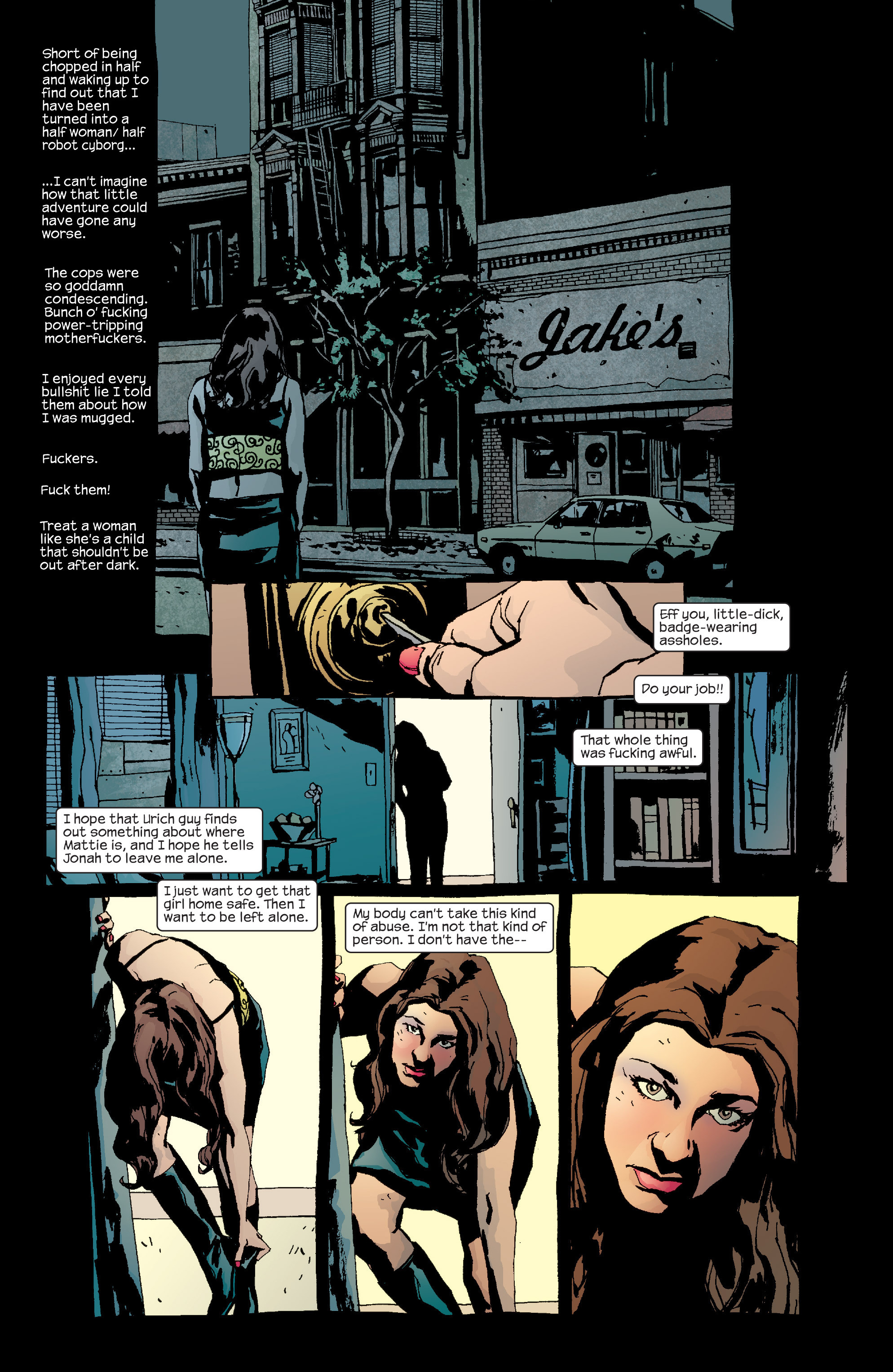 Read online Alias comic -  Issue #19 - 21