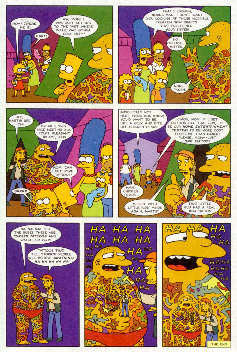 Read online Treehouse of Horror comic -  Issue #4 - 27