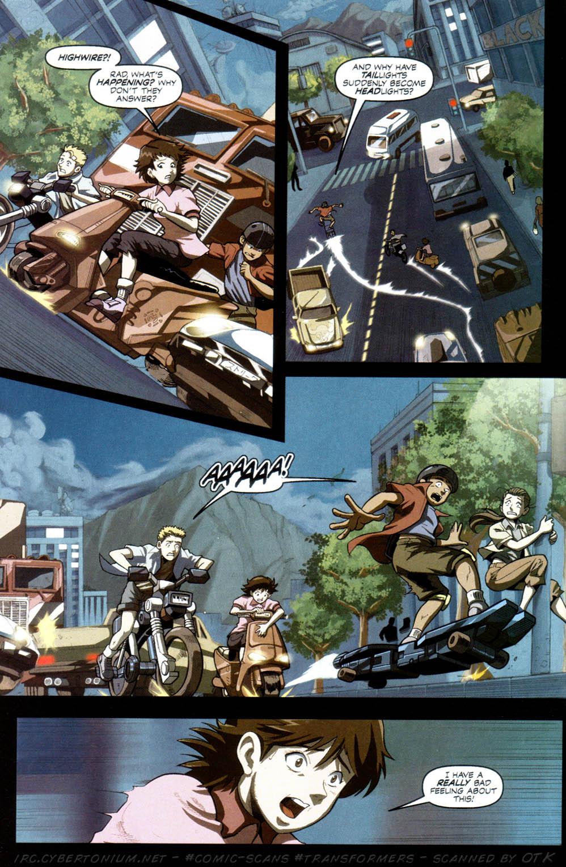 Read online Transformers Armada comic -  Issue #8 - 13