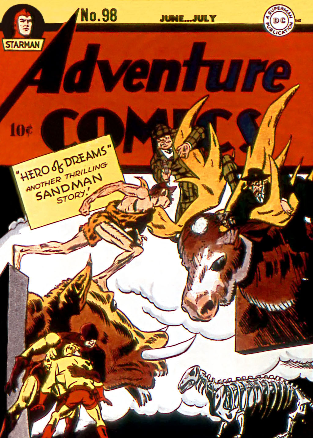 Adventure Comics (1938) 98 Page 1