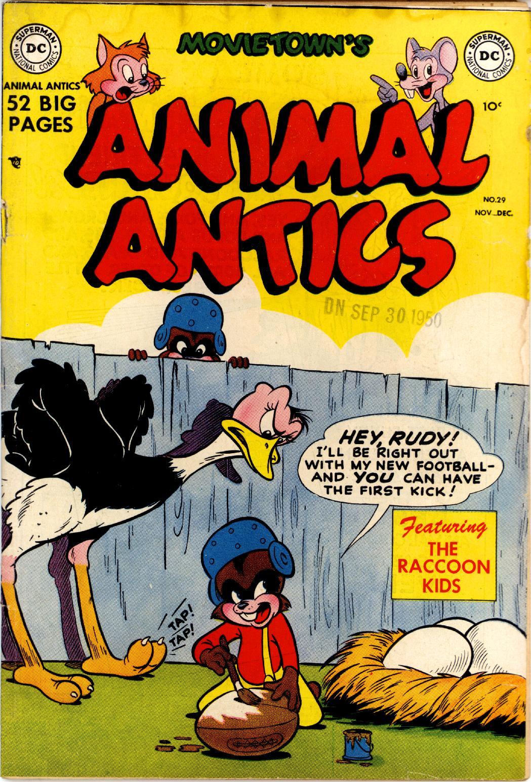 Read online Animal Antics comic -  Issue #29 - 1