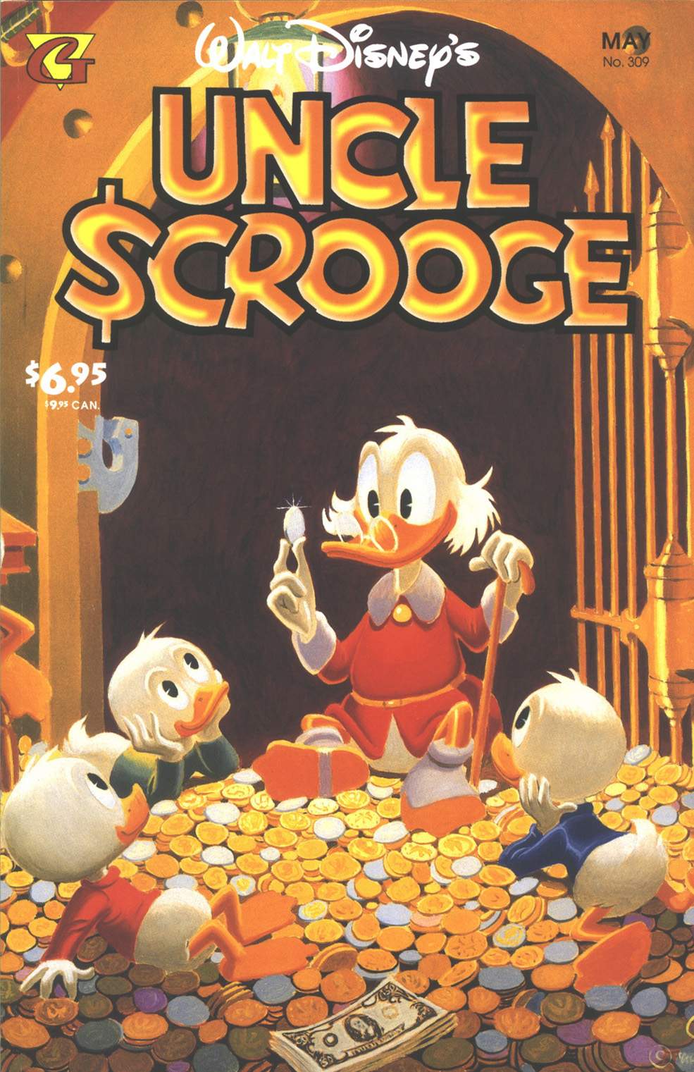 Read online Uncle Scrooge (1953) comic -  Issue #309 - 1