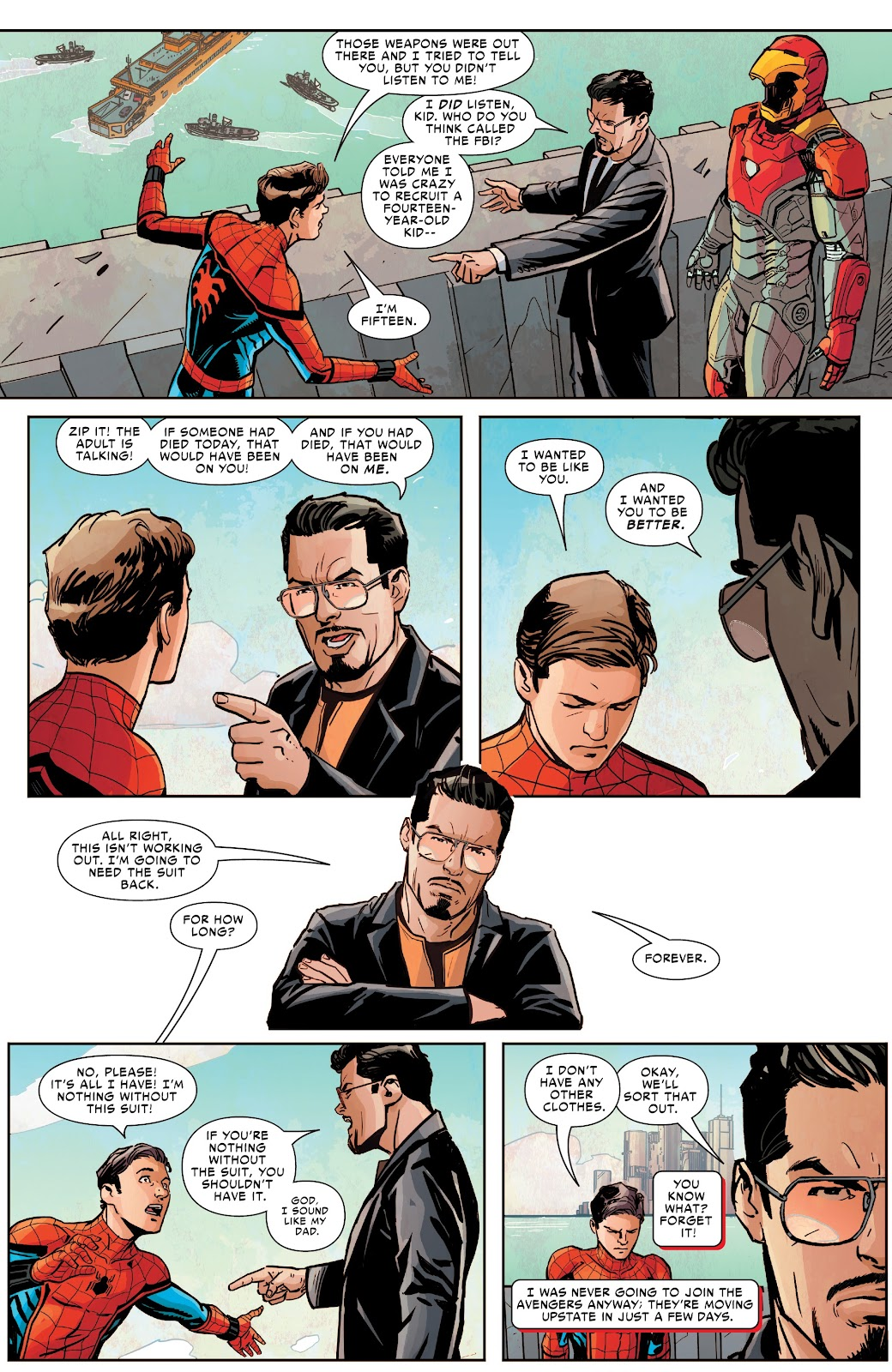 Read online Spider-Man: Far From Home Prelude comic -  Issue #2 - 13