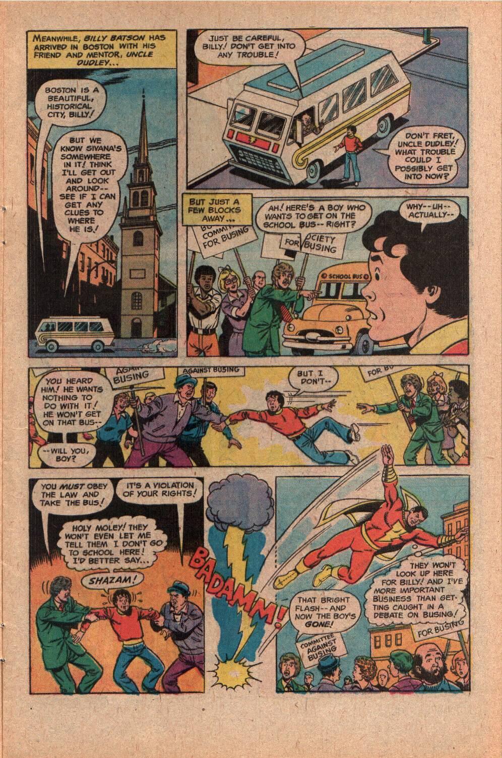 Read online Shazam! (1973) comic -  Issue #28 - 5