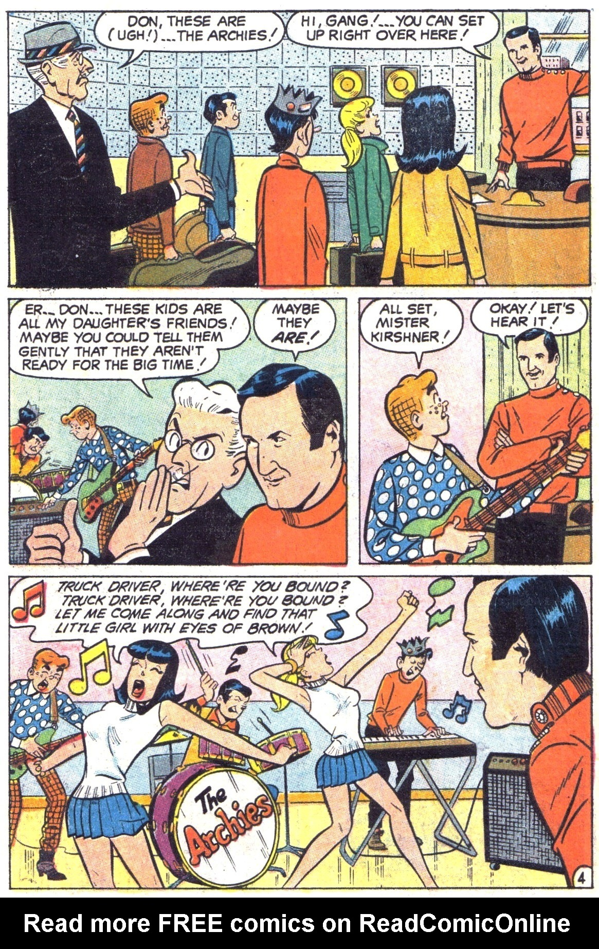 Read online Archie (1960) comic -  Issue #189 - 6