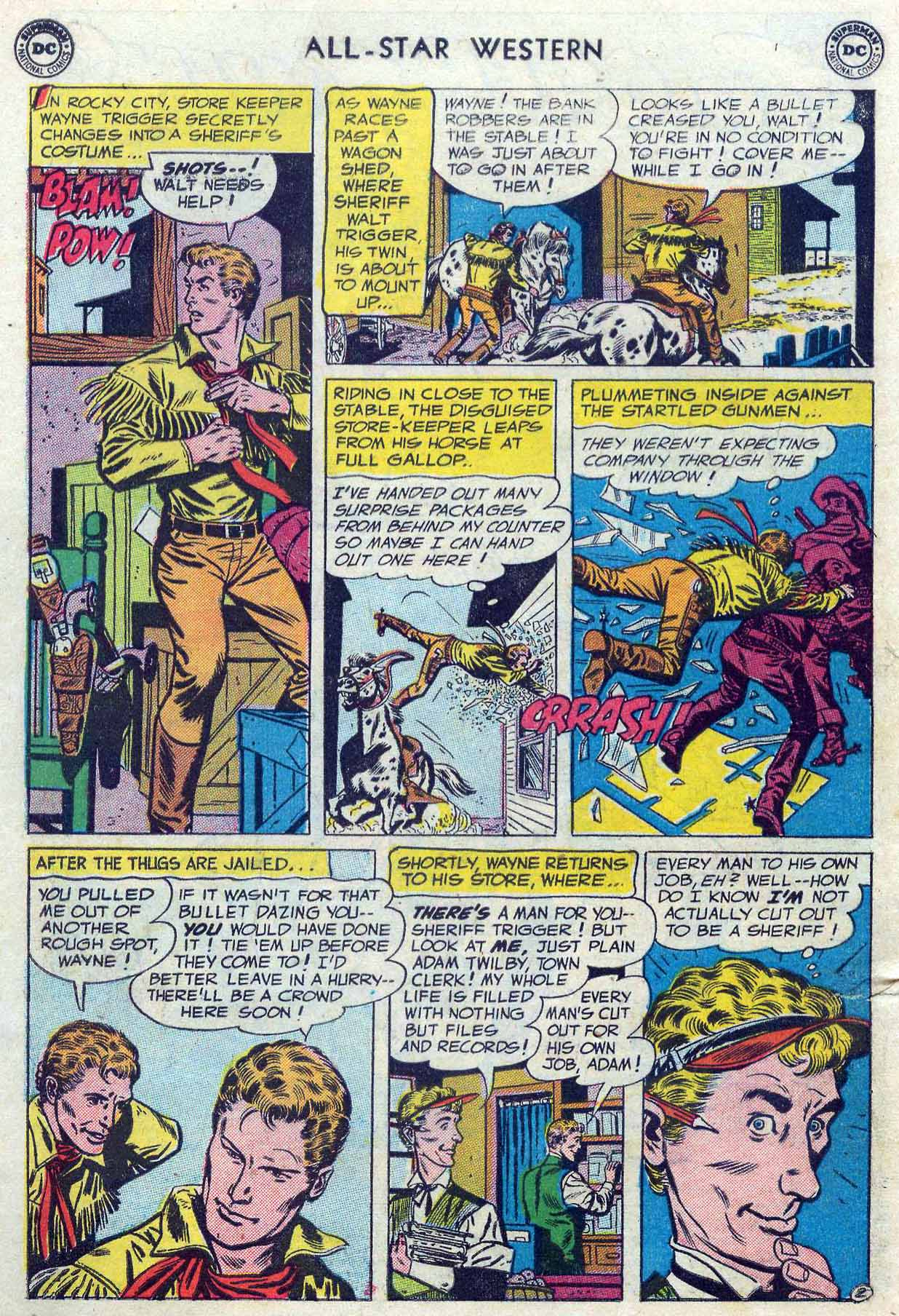 Read online All-Star Western (1951) comic -  Issue #85 - 4