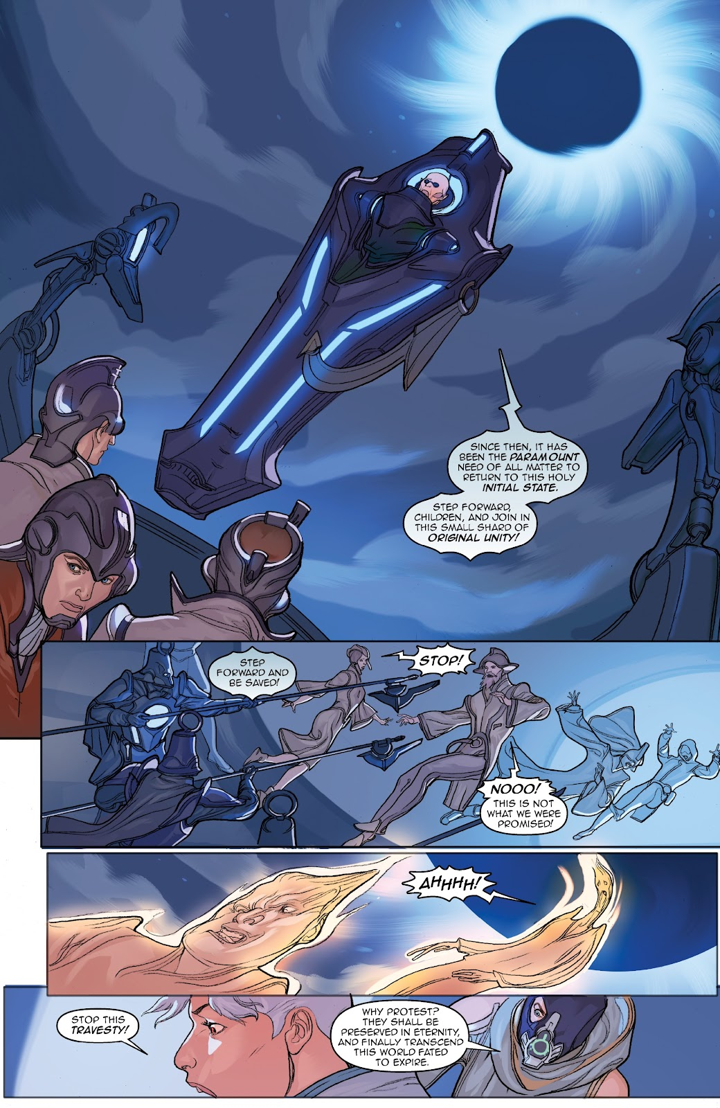 Read online Lightstep comic -  Issue #3 - 21