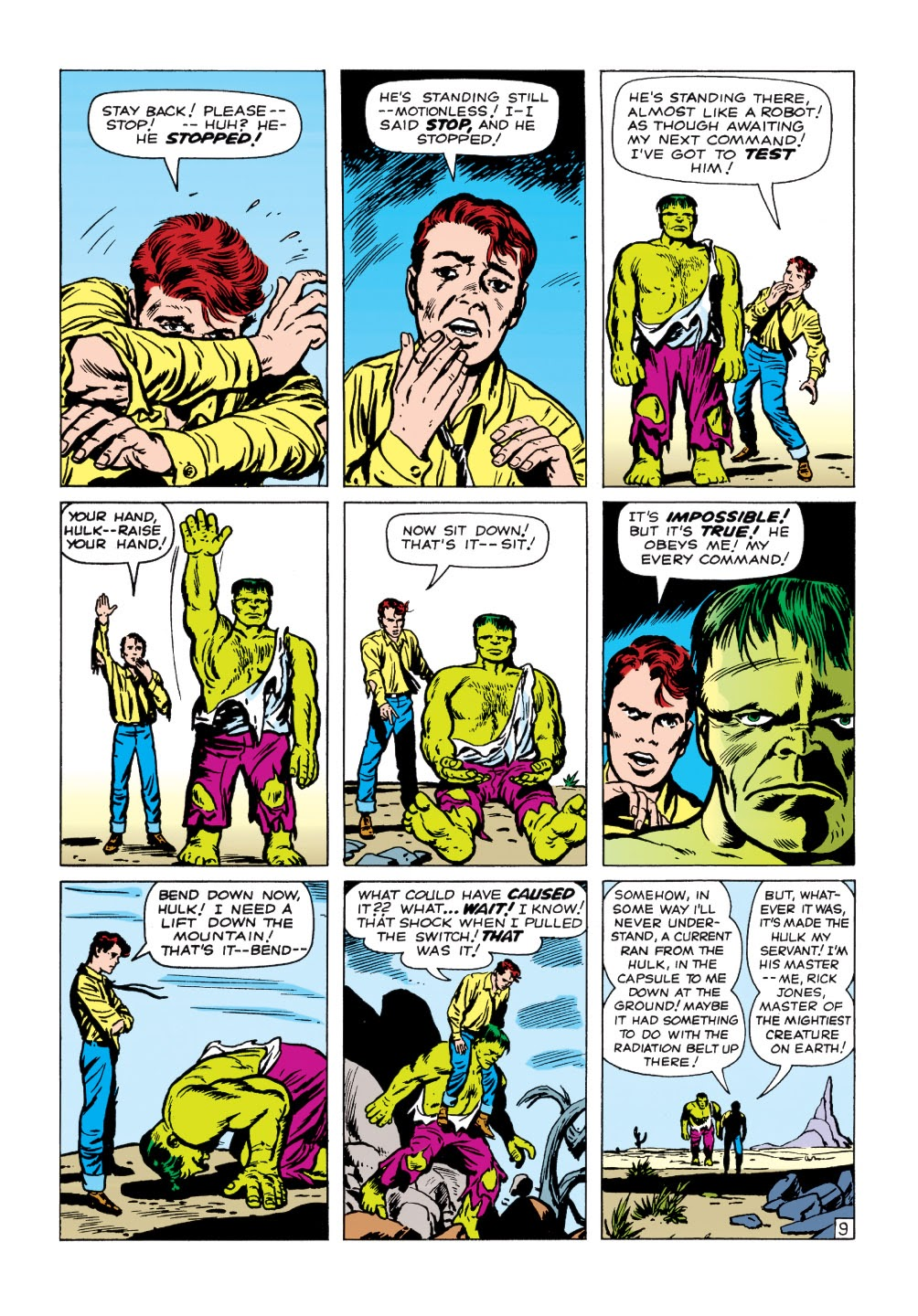 Read online Marvel Masterworks: The Incredible Hulk comic -  Issue # TPB 1 (Part 1) - 62