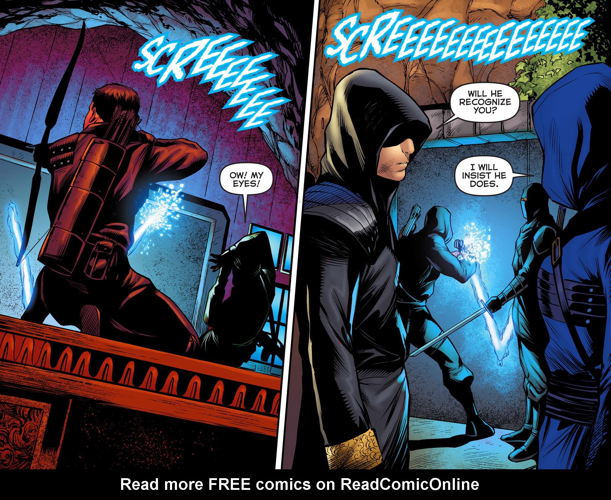 Read online Arrow: The Dark Archer comic -  Issue #2 - 20