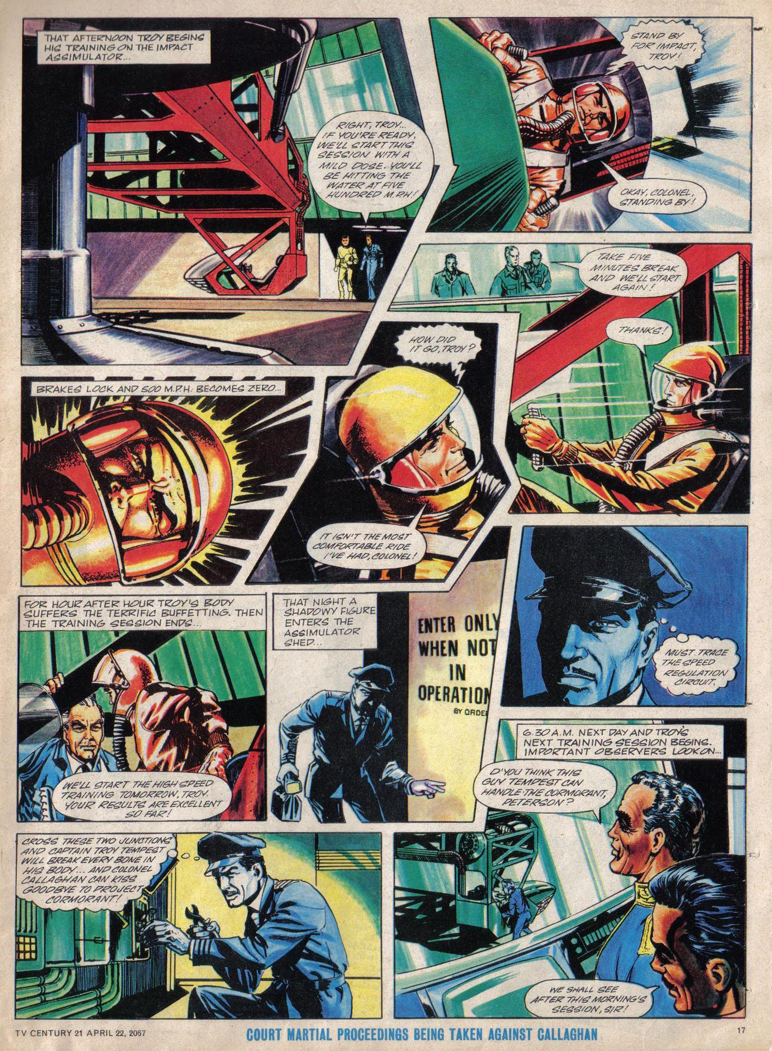 Read online TV Century 21 (TV 21) comic -  Issue #118 - 16