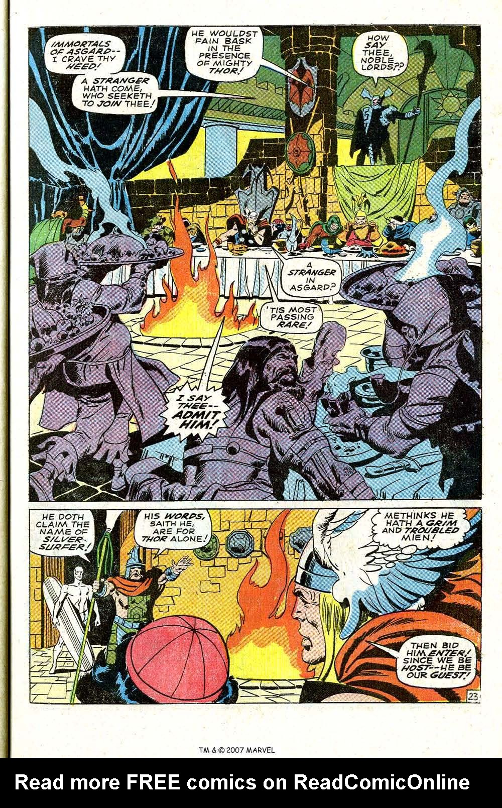 Read online Silver Surfer (1968) comic -  Issue #4 - 29
