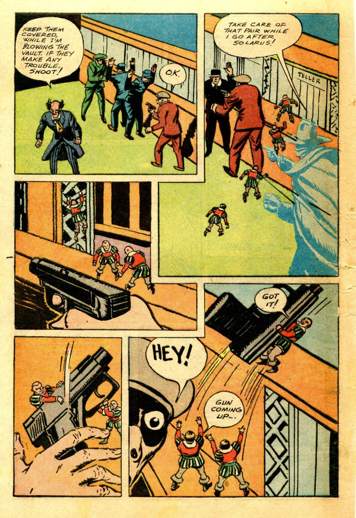 Read online Shadow Comics comic -  Issue #43 - 56