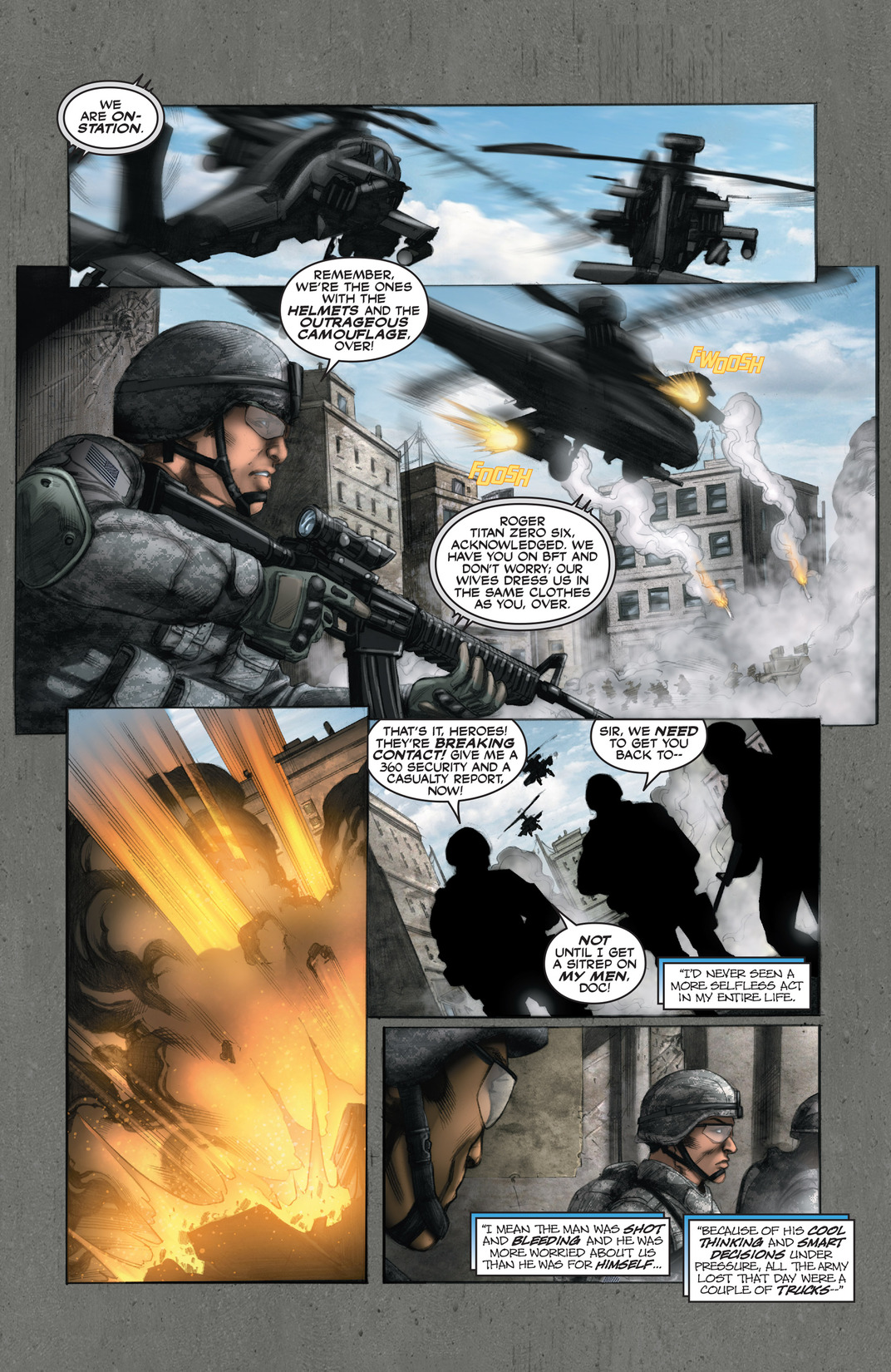 Read online America's Army comic -  Issue #13 - 19