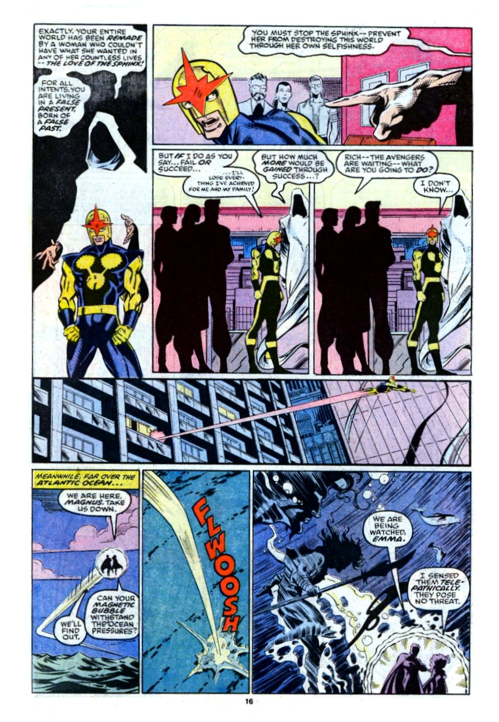 The New Warriors Issue #12 #16 - English 13