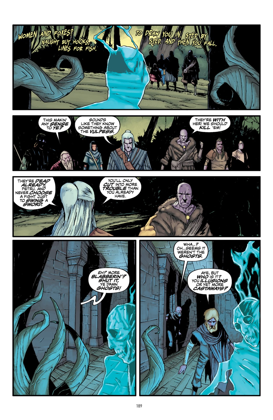 Read online The Witcher Omnibus comic -  Issue # TPB (Part 2) - 89