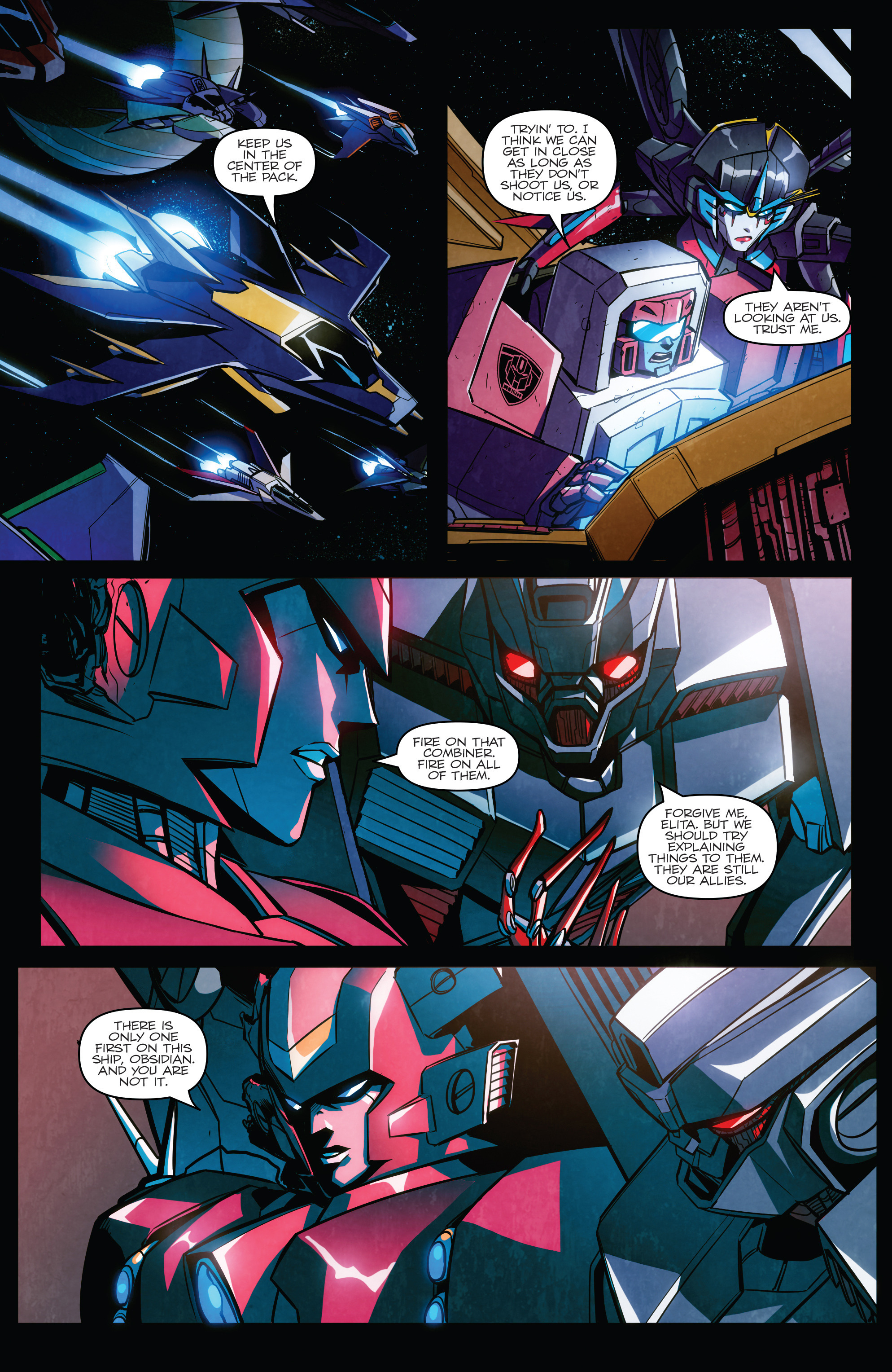 Read online Transformers: Till All Are One comic -  Issue #6 - 23