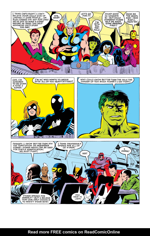 Read online Secret Wars (1985) comic -  Issue #11 - 25