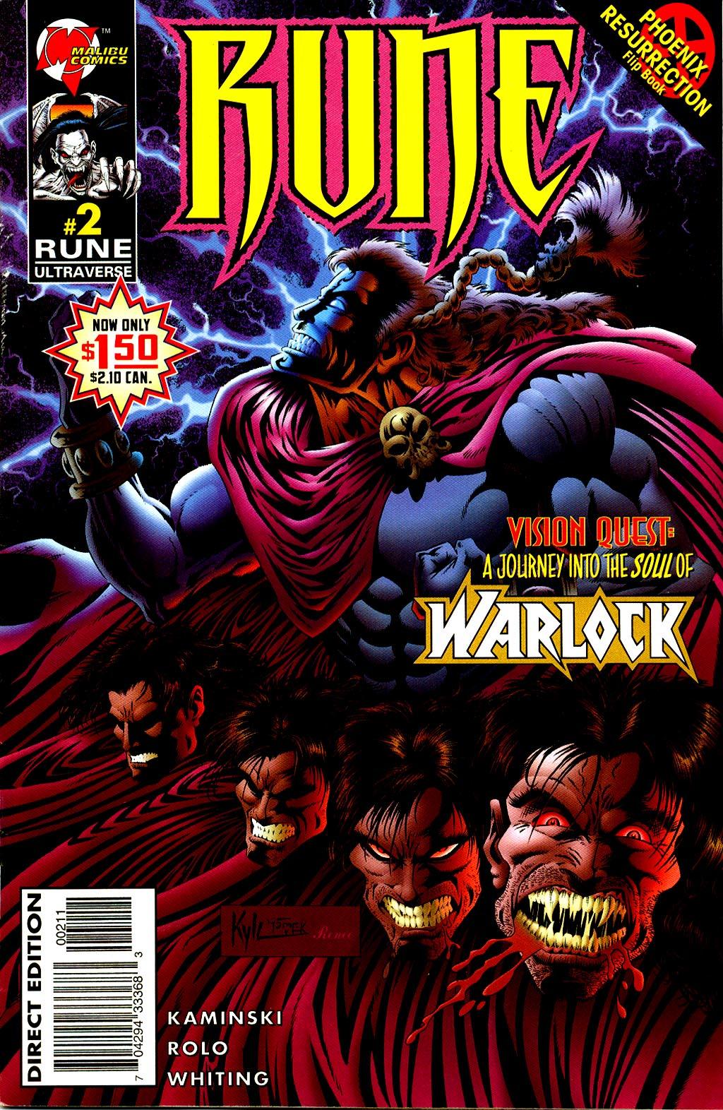 Read online Rune (1995) comic -  Issue #2 - 1